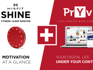 Pryv Partners with Misfit to Empower Users of the Misfit Shine
