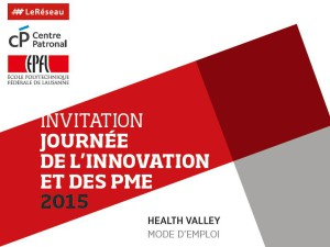 La Journée de l'Innovation et des PME, le 12 mai au SwissTech Convention Center, EPFL