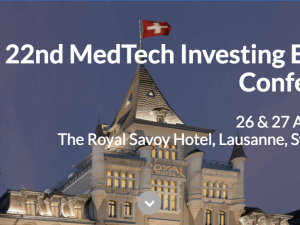 Pryv recognised as one of the 40 hottest investment opportunities for 2016 (ranked by the 22nd MedTech Investing Europe Conference)