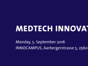 Come and visit us at the next Medtech Innovation Event in Biel on the 5th of September.