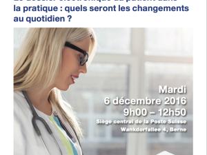 """Pierre-Mikael Legris will present during the Symposium  """"Le dossier électronique du patient dans la pratique: quels seront les changements au quotidien?"""""""
